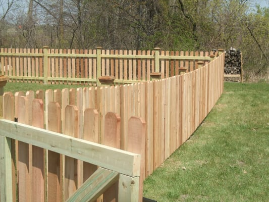 Wood Fence Installation | Crest Fence Company - Elyria, OH